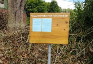 "Informationstafel am Dorfbrunnen (""Alte Waage"")"