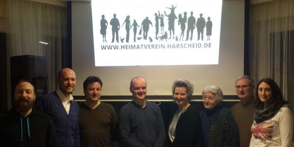 2016-01-29 Vorstand Heimatverein Harscheid 2016